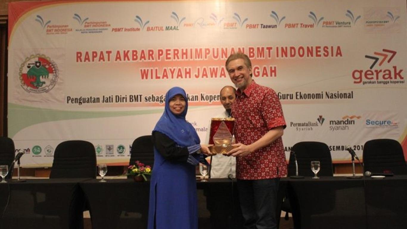 Rapat Akbar PBMTI Wilayah Jateng; Penguatan Koperasi sebagai Soko Guru Perekonomian Indonesia